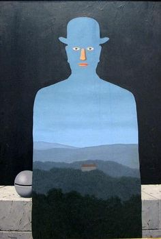 René Magritte - The King's Museum, 1966 René Magritte 1898 - 1967  More @ FOSTERGINGER At Pinterest