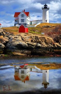 super snaps: Cape Neddick Light, York Beach, Maine