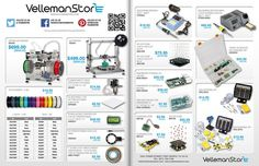 Because of #makerfaire this weekend, we'll be running a huge sale on #3Dprinters and #filament from (9/26-9/30/2015) ! http://www.vellemanstore.com