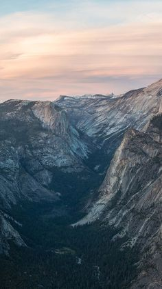 iPhone 6 Plus Glacier Point at Sunset Yosemite Wallpaper