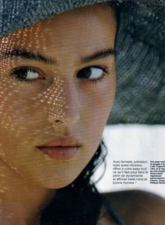 Monica Bellucci, 1988 June 2014 in fashion Originally published in Elle France, May 1988 Photographed by Hans Feurer Make-up by Jacques Clemente for Orlane Monica Bellucci Joven, Malena Monica Bellucci, Monica Bellucci Young, Monica Belluci, Original Supermodels, Dolce E Gabbana, Italian Actress, Italian Beauty, Hollywood Actresses