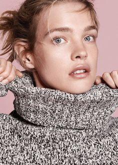 Элегантная непосредственность: Наталья Водянова в лукбуке Theory - журнал о моде Hello style