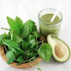 Wildkräuter & Avocado. So lecker. #grünersmoothie #greensmoothie #smoothiemixer #smoothiemaker #avocado #wildkräuter #vegan #gesund #healthyliving