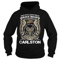 Cool CARLSTON Last Name, Surname TShirt v1 Shirts & Tees