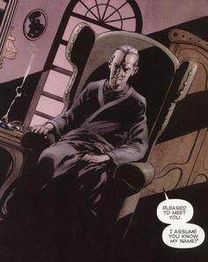 """Holmes in Warren Ellis' """"Planetary"""""""