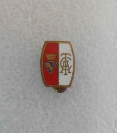 TORINO FC soccer Italy buttonhole pin football badge calcio distintivo Italia 3