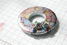 Accentuate 'n Ink: WOW!! Stunning Home Crafted Pendant Jewelry variations with washers, including alcohol inks. love it! must try! #ecrafty
