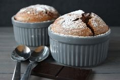 The Easiest Chocolate Soufflé Recipe That You Will Ever Make!( gluten and grain free) FROM Whole Lifestyle Nutrition Paleo Dessert, Gluten Free Desserts, Just Desserts, Delicious Desserts, Dessert Recipes, Yummy Food, Mini Desserts, Keto Desserts, Biscuits