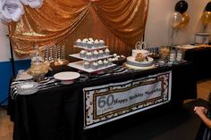 Cake and sweet station
