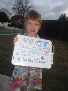 Ashley G. from Texas sent in this great pic of her daughter Heidi on the first day of school.