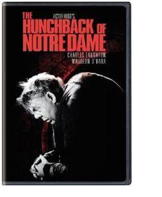 The Hunchback of Notre Dame movie based on the novel by Victor Hugo. Victor Hugo, Albert Camus, Harry Davenport, Honore De Balzac, Alphonse Daudet, Gaston Leroux, Maureen O'hara, Turner Classic Movies, Drama Film