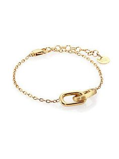 Marco Bicego Delicati 18K Yellow Gold Interlocking Link Bracelet @Saks Fifth Avenue