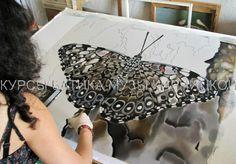 батик, курсы батика, шелк, роспись по шелку, silk painting, batik, hand painted…