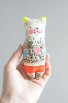 Art dolls by Jess Quinn