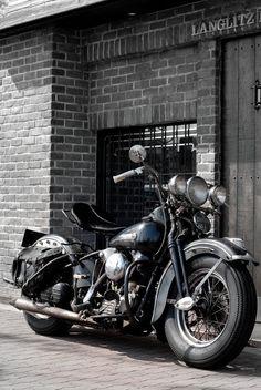 Knucklehead #motorcycle #Vintage_Motorcycle