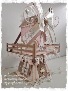 Windmill template Sandra's Scrapshop