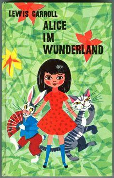 'Alice Im Wunderland' Translation in German *Front Cover
