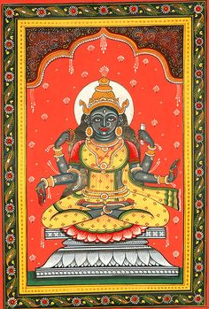 Goddess Bhairavi - The Fierce One (Ten Mahavidyas)