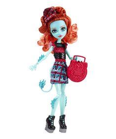 Look at this #zulilyfind! Monster High Lorna McNessie Doll #zulilyfinds