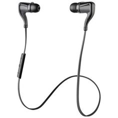 Plantronics Backbeat Go 2 Bluetooth Earbuds With Microphone And Charging Case (black) (pack of 1 Ea)