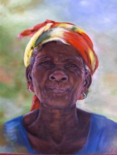 Alte Afrikanerin