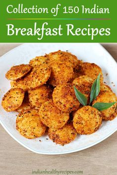 Breakfast recipes – Collection of 150 delicious traditional Indian breakfast recipes with step by step photos videos. Includes recipes from South Indian North Indian cuisines - Indian Breakfast Recipes Veg Breakfast Recipes Indian, Indian Veg Recipes, Breakfast Dishes, Healthy Breakfast Recipes, Indian Snacks, Indian Eggplant Recipes, Healthy Veg Recipes, Sweet Breakfast, Dinner Healthy