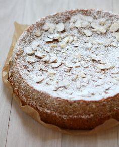 Lemon, Ricotta, Almond Meal Cake (Gluten-free) | http://www.thekitchenpaper.com/lemon-ricotta-almond-meal-cake-gluten-free/
