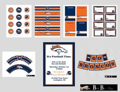 Denver Broncos Party Pack. For next year. ;)