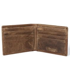 Ruil Retro casual burnish leather Wallets Q003 (Shallow B…