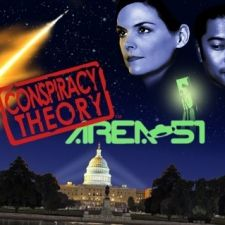 """Audrey was a character in our mobile game called """"Conspiracy Theory: Area 51."""""""