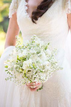 Bouquet de mariée, Domaine de Blanche Fleur, www.blanchefleur.com fleurs : big day