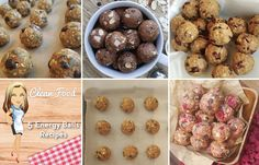 5 Super Healthy Recipes for Energy & Protein Balls (Easy to Make!) - Clean Food Crush