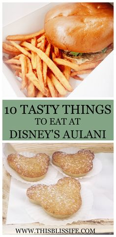 10 Tasty things to eat at Disney's Aulani | www.thisblisslife.com
