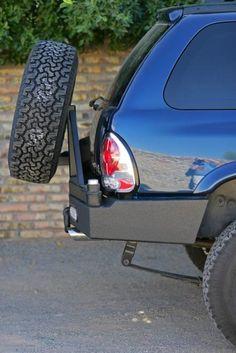 Rear Multicarrier bumper Dodge Durango (98-03): BlueLakeOffroad