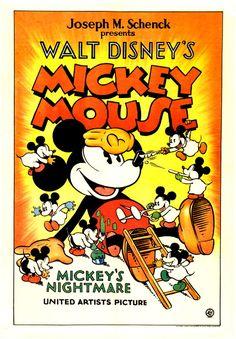 Mothic Flights And Flutterings, monsterman:   Mickey's Nightmare (1932)    Happy...