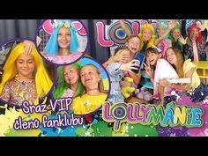 LOLLYMÁNIE - Členky fanklubu si zahrály na Lollipopz😁 - YouTube Vip, Studios, Youtube, Youtubers, Youtube Movies