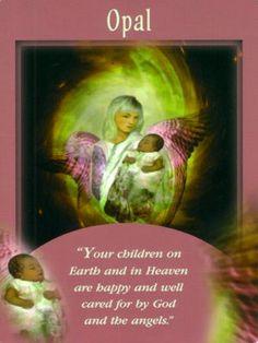 Opal - Psychic Tarot messages from your angels Doreen Virtue #tarot #angels #opal