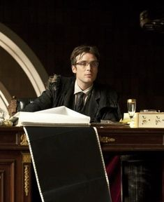 Cillian Murphy...never trust this man on the Judge's bench.