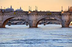 Pont Neuf, the oldest standing bridge in Paris