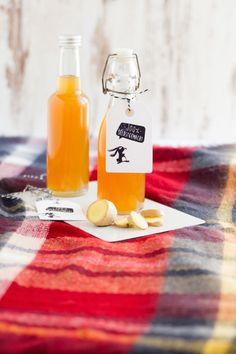 Ingwer Sirup I Ginger Syrup  I haseimglueck.de #syrup #ginger