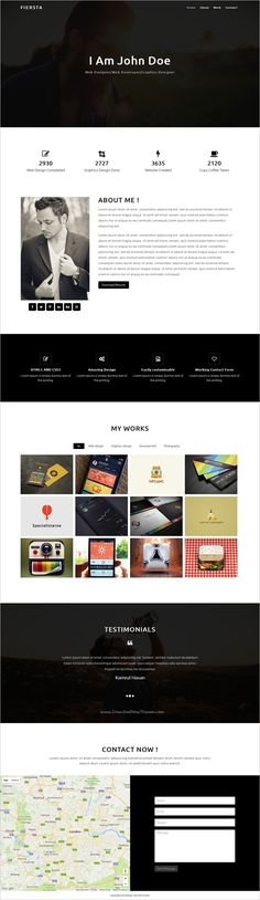 MyVCard - Responsive \ Creative Resume CV vCard Template Resume - resume html template