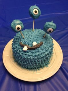Monster Birthday Cake.