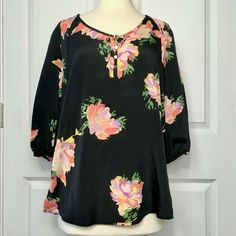 Jaclyn Smith, Floral Blouse, Best Brand, Bell Sleeve Top, Boho, Ebay Clothing, Sleeves, How To Wear, Clothes