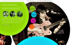 circle designs web design - Google Search