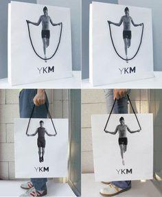 Auffallende Werbung Foto