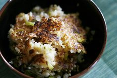 Humble Bean |Crispty Rice with Miso and Leeks