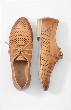 cutout oxfords. I have a similar pair, these are nicer.