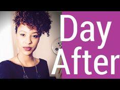 DAY AFTER - Como Ter Cachos Por Mais Tempo - YouTube
