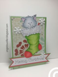 MeowyChristmas ~Clear Dollar Stamps
