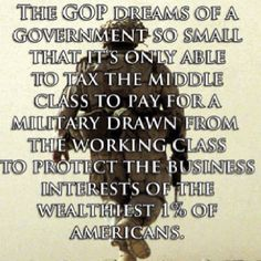 Wake up America - Vote the GOP Out